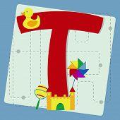 stock photo of letter t  - Letter  - JPG