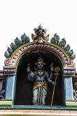 picture of shiva  - Statue of Lord Shiva at the entrance of a Hindu temple