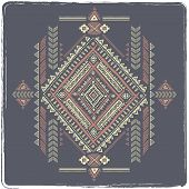 picture of tribal  - Tribal vintage ethnic background for your business - JPG
