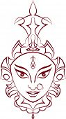 stock photo of durga  - Durga - JPG