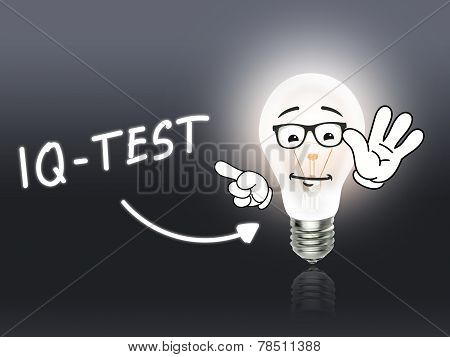 Iq-test Bulb Lamp Energy Light Gray