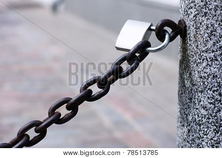 Chain On The Lock