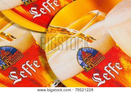 Beermats From Leffe Beer
