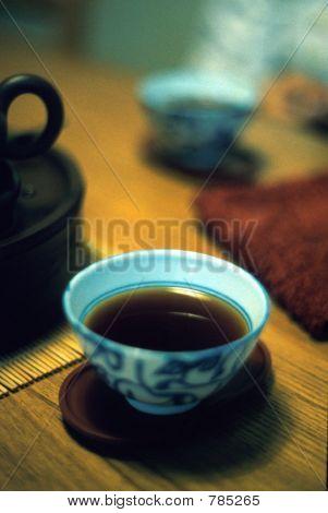 Puer tea from Yunnan, China