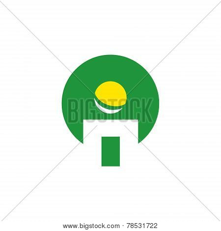 Iq Park Abstract Vector Sign