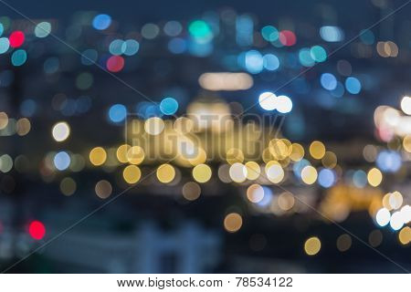 Bangkok Throne Hall, blur bokeh background