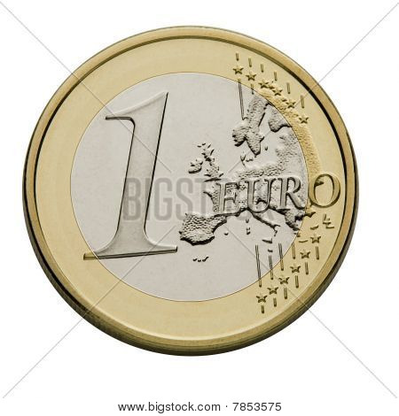 European Union Currency - One Euro
