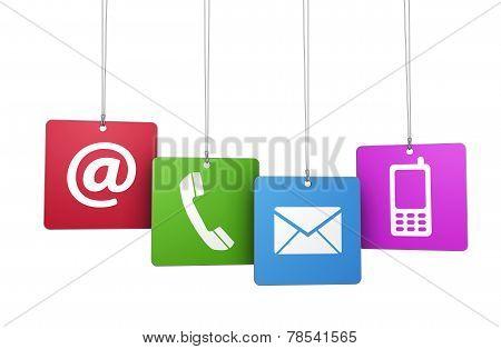 Contact Us Web Concept