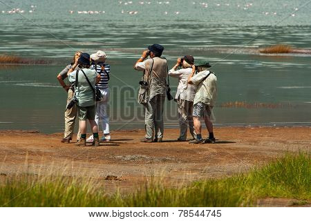 Seniors On Photo Safari