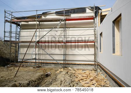 Metal Scaffold For Workers