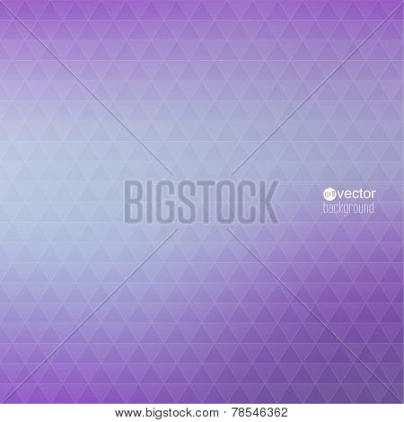 Abstract vector background with triangles and pattern of geometr