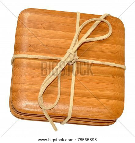 Bamboo Wood Coasters
