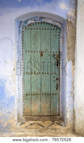 Door From Chefchaouen, Morocco