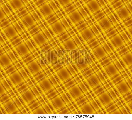 Golden plaid tartan background