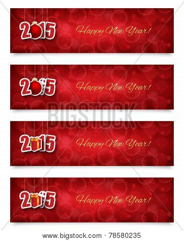 2015 New Year Banners
