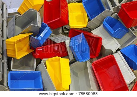 Plastic Tubs And Bins