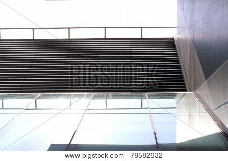 Abstract Modern Building Background