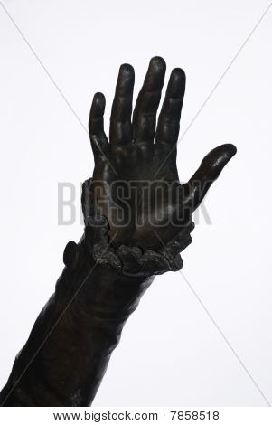 18th Century Statue Hand