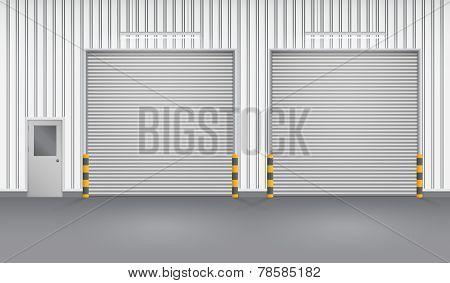 Factory Shutter Doors