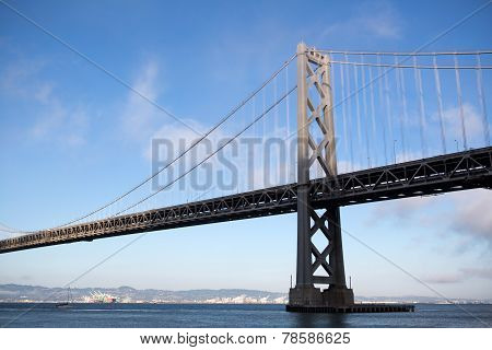 Oakland Bay Bridge In San Francisco