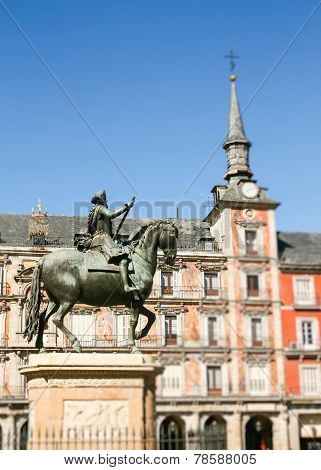 Felipe Iii On Horseback