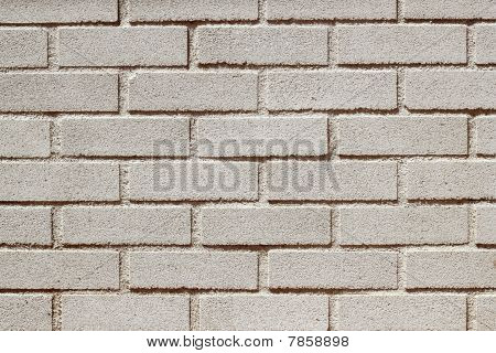 Precast Concrete White Bricks Brickwall Wall