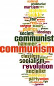 pic of communist symbol  - Communism Word Cloud Concept - JPG