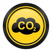 pic of carbon-dioxide  - carbon dioxide icon - JPG