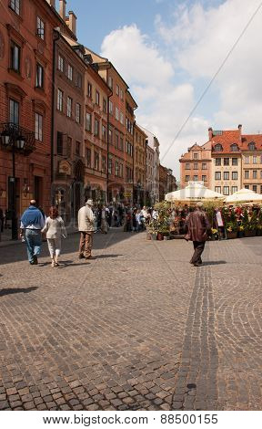 Warsaw - Square Of The Old Town
