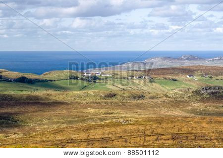 Rugged Co. Donegal Landscape, Ireland