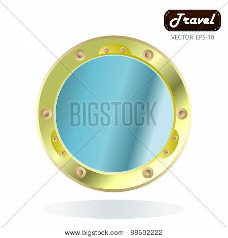 Old Bronze Porthole