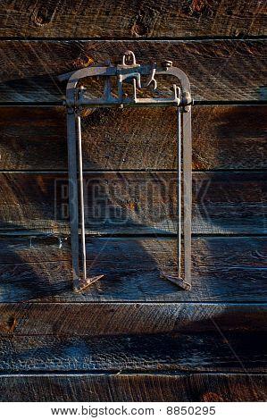 Vintage farm implements