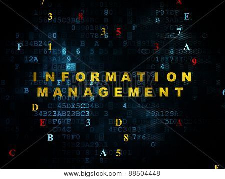 Information concept: Information Management on Digital