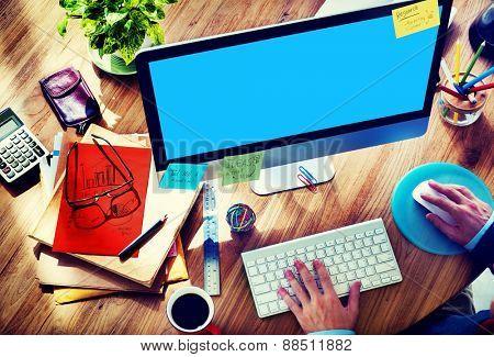 Work Technology Using Computer Digital Concept