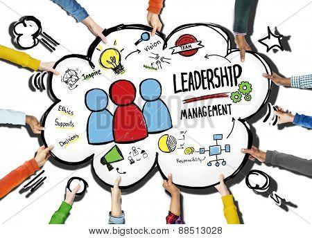 Diversity Hands Leadership Management Team Support Volunteer Concept