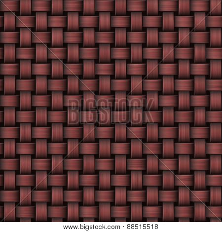 Seamless Abstract Marsala Knitted Burlap Texture