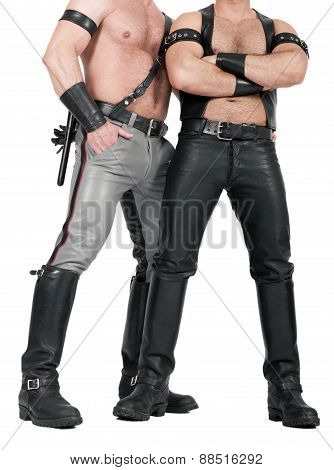 Two Leathermen