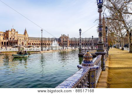 Spanish Square  - Seville