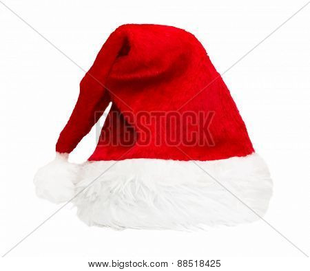 Santa red hat, vector