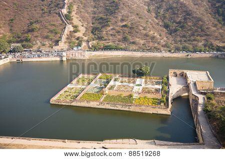 Lake Garden, Amber, Rajasthan