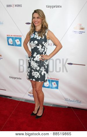 LOS ANGELES - FEB 19:  KaDee Strickland at the Milk+Bookies Sixth Annual Story Time Celebration at the Toyota Grand Prix Racecourse on April 19, 2015 in Long Beach, CA
