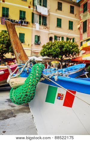 Boats in Portofino, Italy