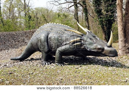 Model of Styracosaurus