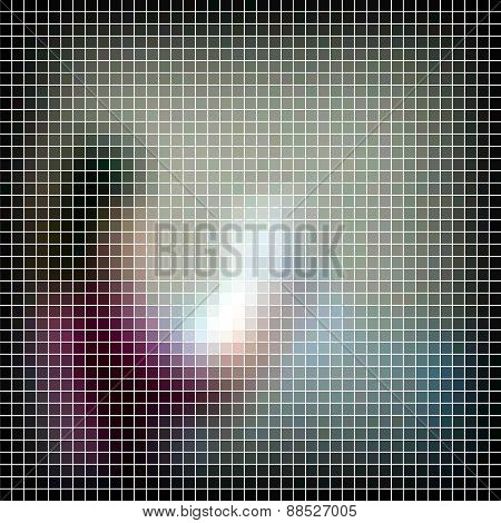 Abstract raster background