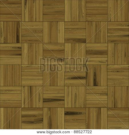 Wood Floor Pattern Seamless Generated Texture