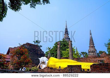 Architecture Buddha Sleep Outdoor