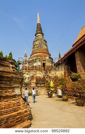 Old Pagoda And Travel