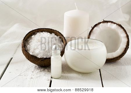 Spa Products With Coconut