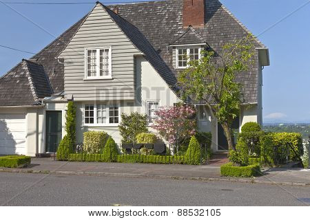 Residential Houses Around Portland Oregon.