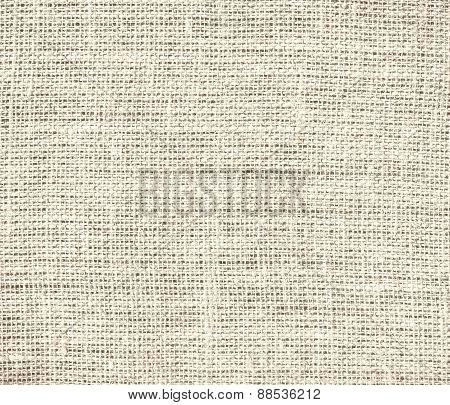 Burlap almond texture background